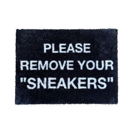 Please Remove Your Sneakers